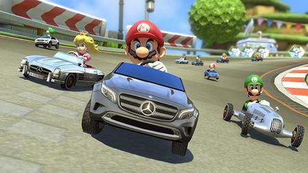 Mario Kart 8 recibirá tres Mercedes Benz y anuncia torneo mundial
