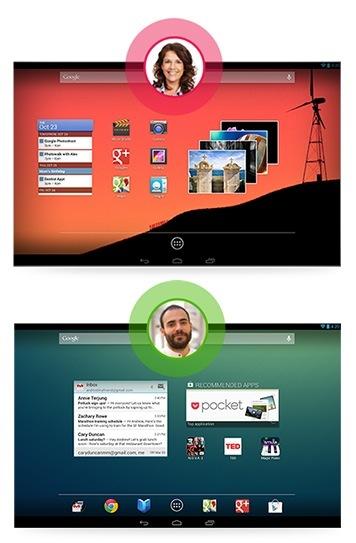 android 4.2 jelly bean google multiusuario cuentas