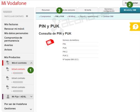 Conocer Pin Vodafone Desde Navegador