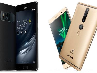 La familia Tango crece con el nuevo Asus Zenfone AR, lo enfrentamos con el Lenovo Phab 2 Pro