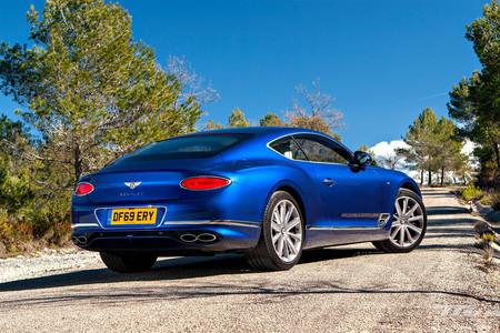Bentley Continental GT V8 2020 prueba