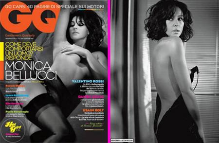 Monica Bellucci impresionante para GQ Italia