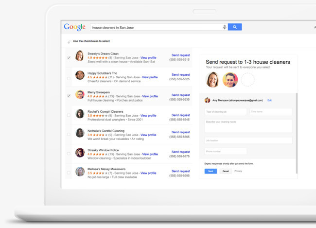 Google Adwords Express Home Services