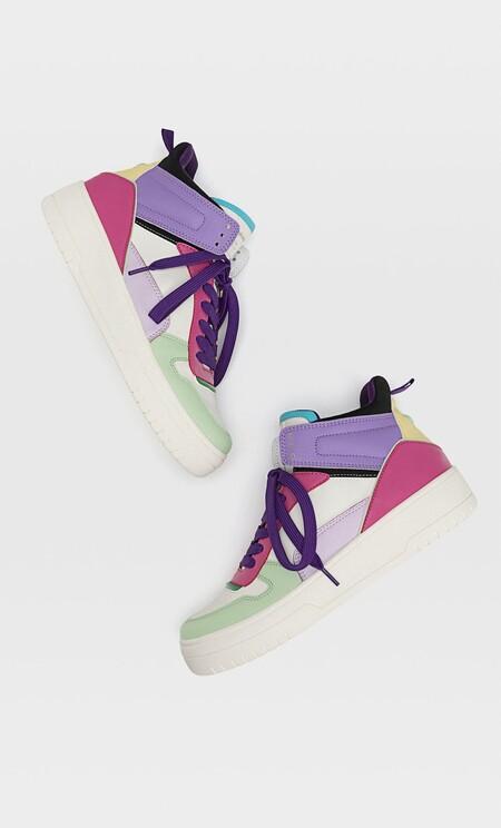 Stradivarius Sneakers Colores 2021 03