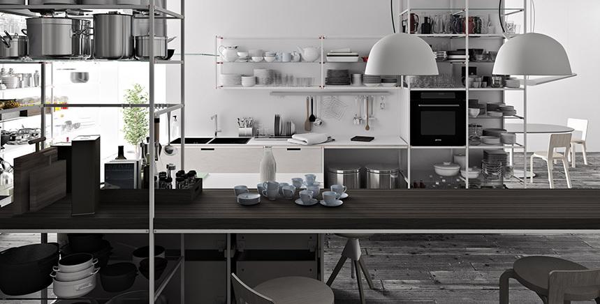Foto de Meccanica, un sistema de almacenaje muy versátil y minimalista (15/21)