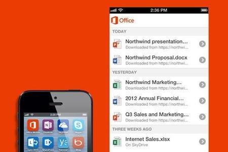 Microsoft Office Mobile se vuelve gratuito en iPhone y Android