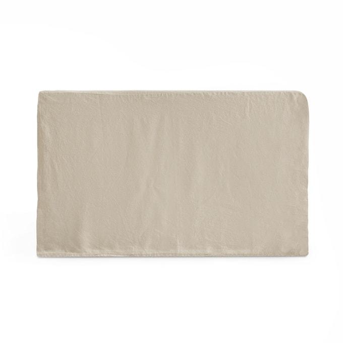 Funda para cabecero de cama de lino lavado, Abella