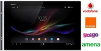 Precios Sony Xperia Tablet Z con Amena y comparativa con Vodafone, Orange y Yoigo