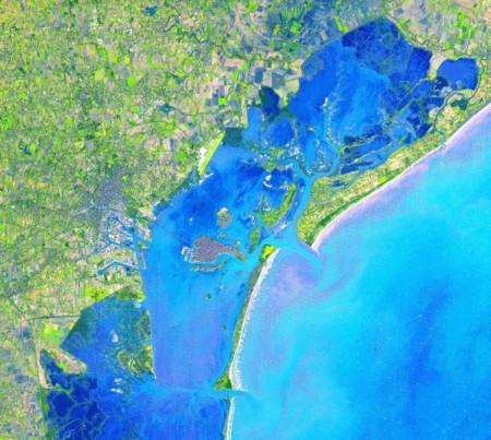 23 sitios turísticos vistos desde el espacio, en magníficas fotografías de la NASA