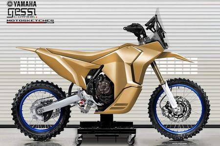 Yamaha Tenere Rally Racer Gessi Moto Oberdan Bezzi Design 3