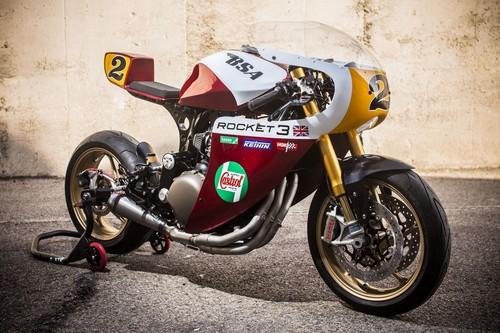 Rocket, lo último de XTR Pepo: una moto de carreras tan fascinante como irracional