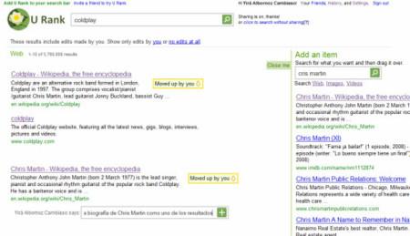 U Rank, Microsoft experimenta con búsquedas sociales al estilo Wikia Search