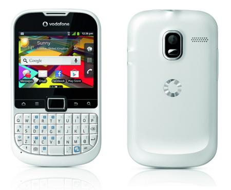 Vodafone Smart Chat, el smartphone con teclado Qwerty para los más chateadores