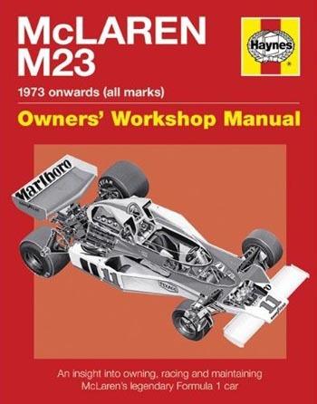 Conoce todos los secretos del McLaren M23