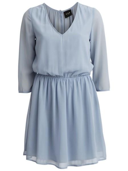 Vestido Vila Azul Celeste 1