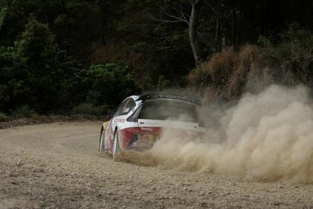 Sébastien Loeb es el nuevo líder del Rally de Australia