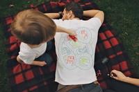 Idea: camiseta circuito de carreras