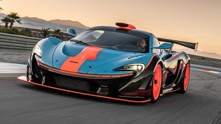 McLaren P1 GTR-18 preparado por Lanzante