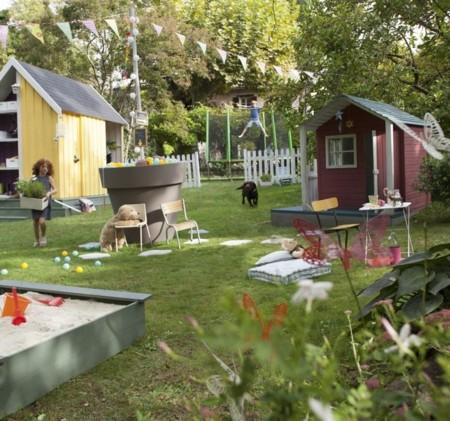 Un jardín de verano mágico, para los duendes de la casa