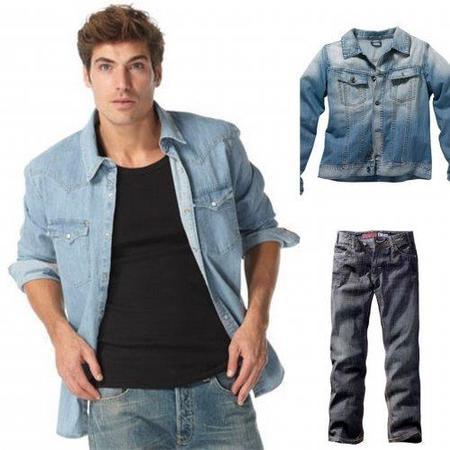 Intenta que tu Jeans total look tenga el mismo tono de tela vaquera