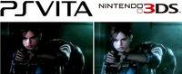 Comparación de las pantallas de PS Vita y Nintendo 3DS
