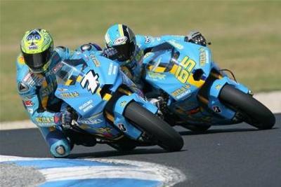 Capirossi y Vermeulen seguirán en Suzuki en el 2009