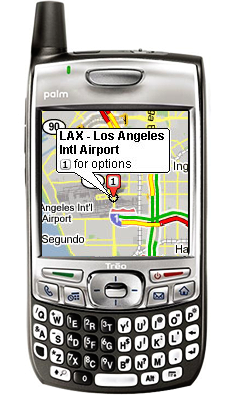Google Maps Mobile para Palm Treo