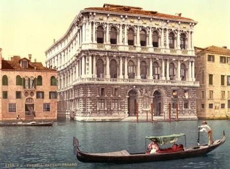 El Palacio De Pesaro Sobre El Gran Canal