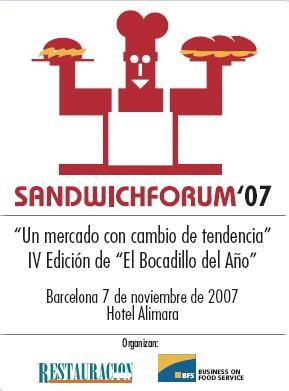 Sandwichforum 07, el consumo de bocadillos crece
