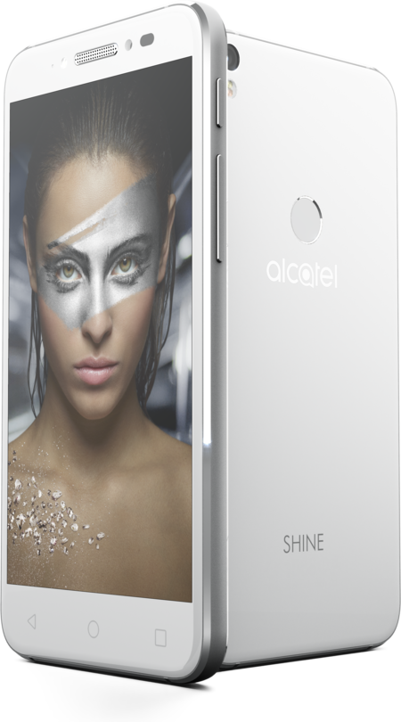 Alcatel Shine Lite White Pos Kv 03 Woman