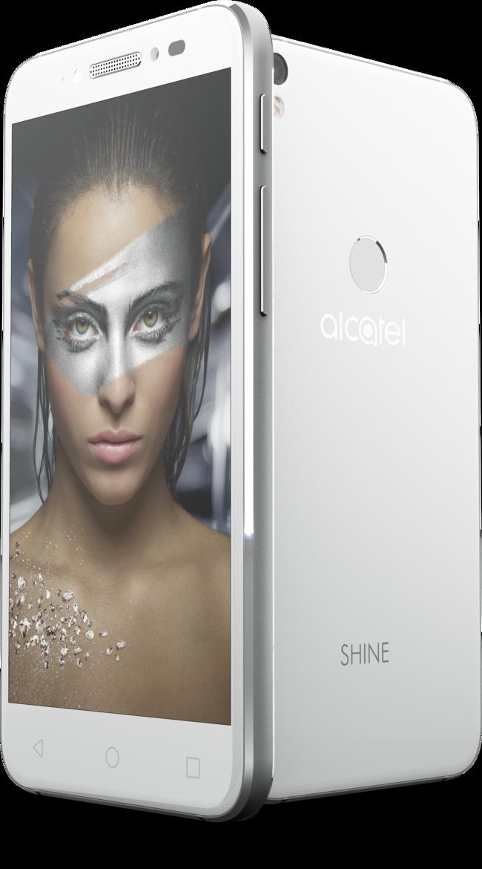 Alcatel Shine Lite White Pos Kv 03 Woman