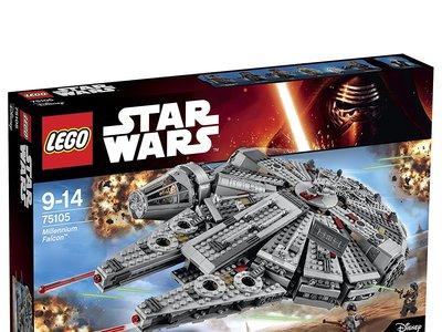 Halcón Milenario de Lego Star Wars a su precio más bajo en Amazon: 103,67 euros