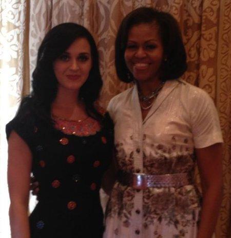 Katy Perry, la amiga inti de Michelle Obama