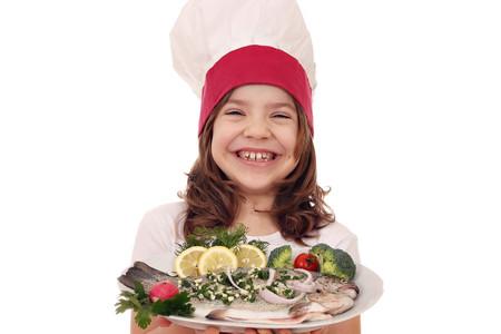 El pescado en la alimentación infantil: merluza, pescadilla, lenguado y otros pescados blancos