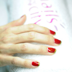 Foto 1 de 3 de la galería manicura-red-golden-cristmas-de-nails-and-the-city en Trendencias