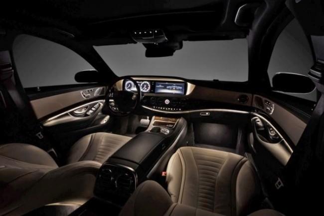 S-Class Interior Mercedes