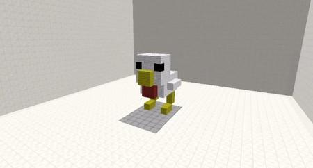 Construyen una impresora 3D en 'Minecraft' con más de 20.000 comandos