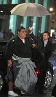 Brad Pitt y el luchador de sumo