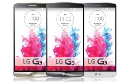 Descarga los fondos de LG G3
