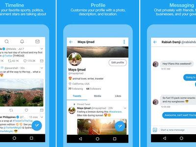 Twitter Lite, así puedes descargar ya la versión reducida de su nueva aplicación para Android