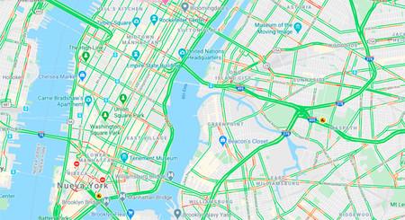El tráfico en Nueva York