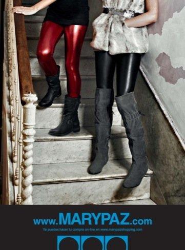 Marypaz, otoño-invierno 2010/2011 botas mosquetero