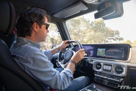 Mercedes-AMG G63 conduciendo