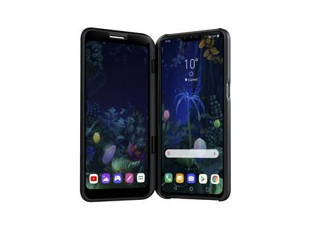 V50 ThinQ: LG no tiene un smartphone plegable, pero sí uno al que se le puede añadir una segunda pantalla