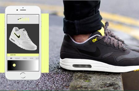 Los tenis que permiten cambiar su diseño desde el celular