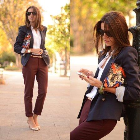 Look trabajo Moda en la calle