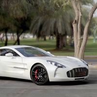 Con 7 años y 300 km, este impoluto Aston Martin One-77 puede alcanzar los 2 millones de euros