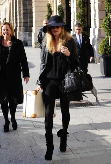 Kate Moss sombrero de moda