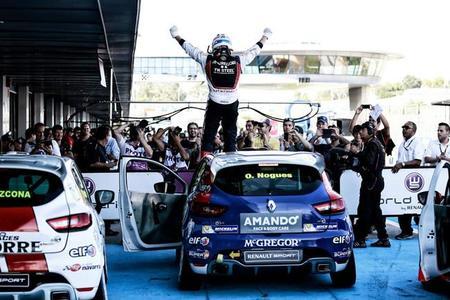 Óscar Nogués logra su segundo título en la Clio Eurocup