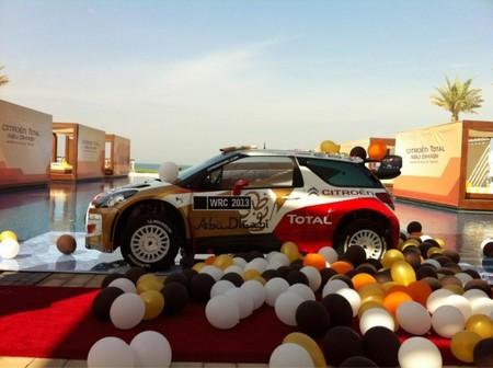Citroën presenta su equipo para la temporada 2013. Dani Sordo hará 11 rallyes